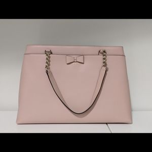 Kate Spade New York Maryanne Pink Leather Tote Bag